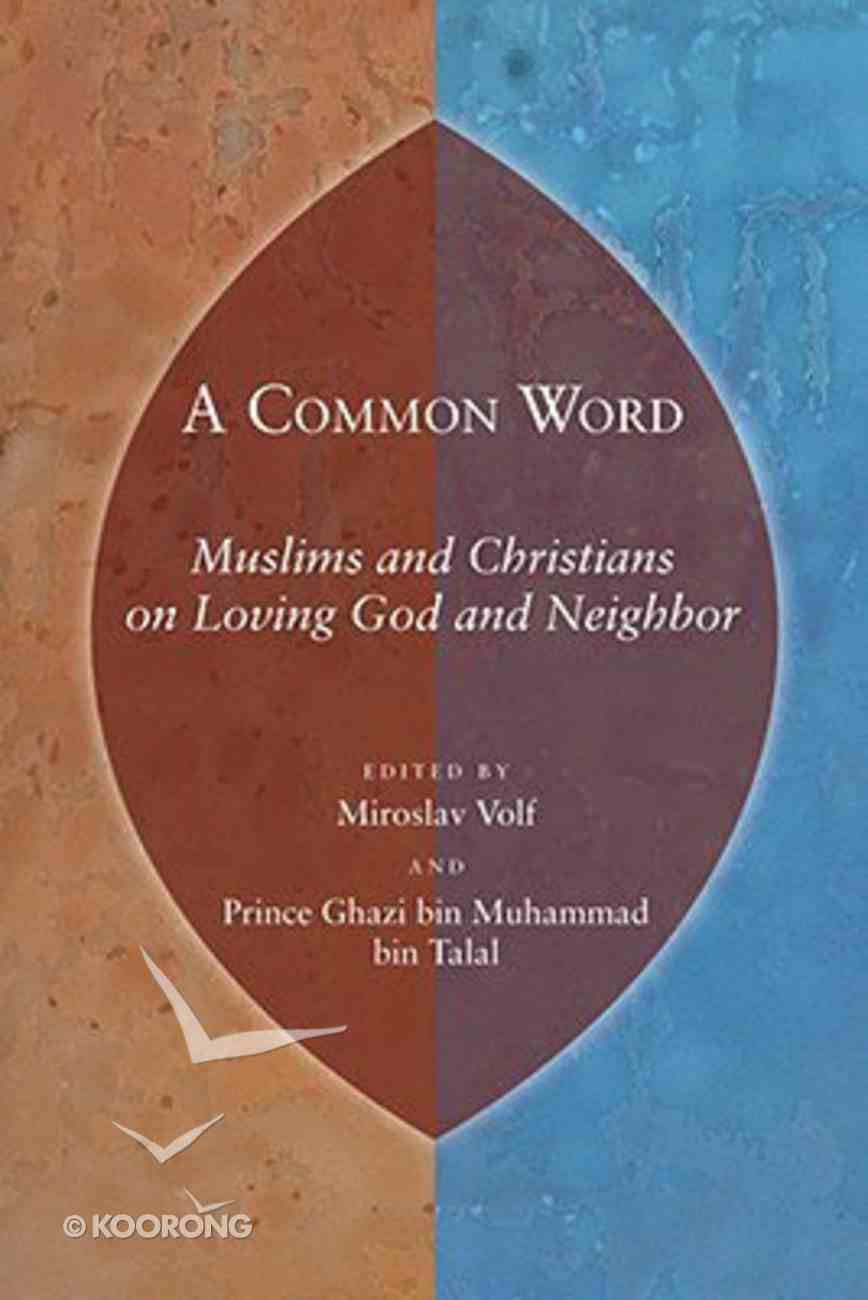 A Common Word Paperback