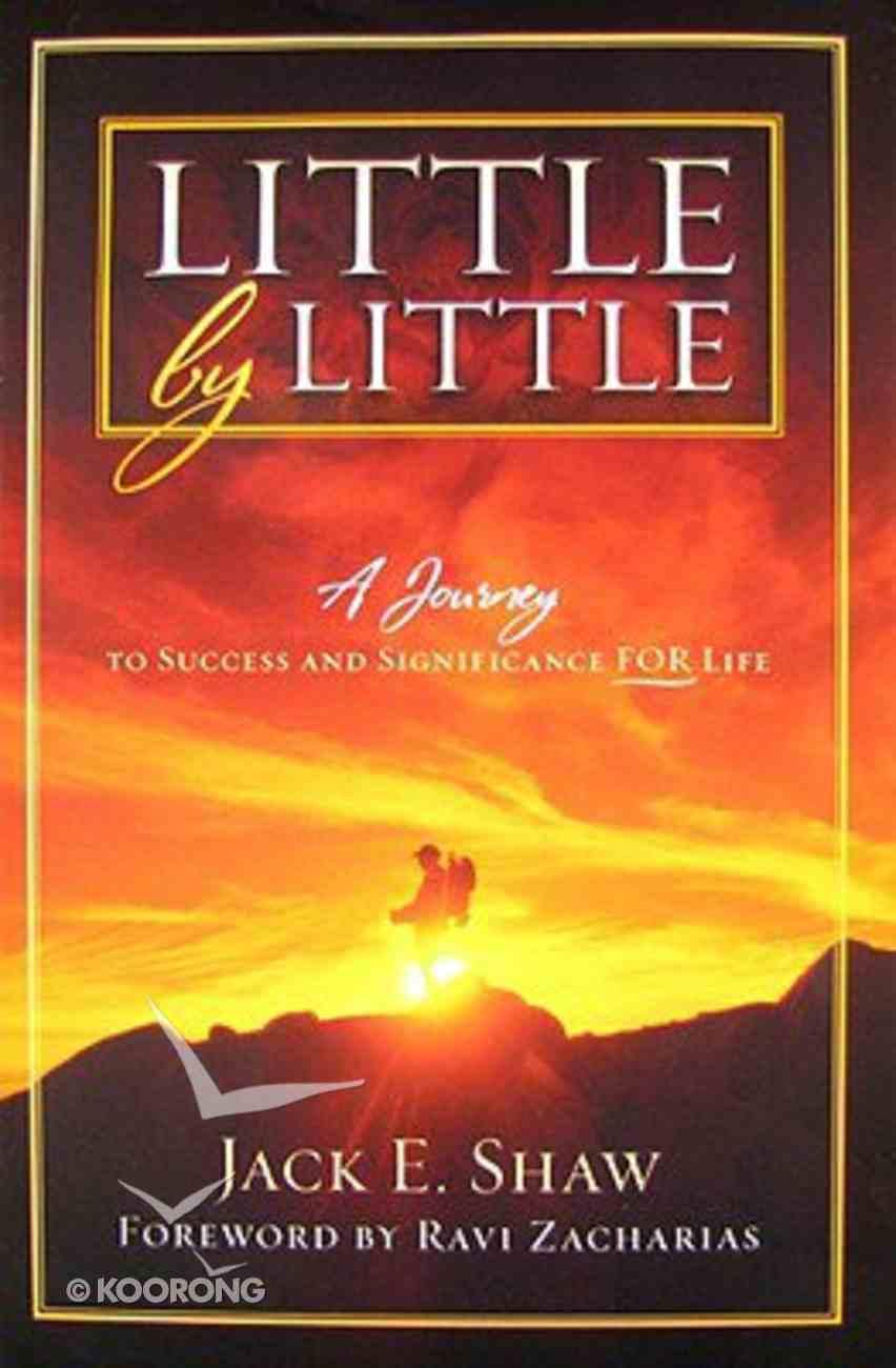 Little By Little Hardback