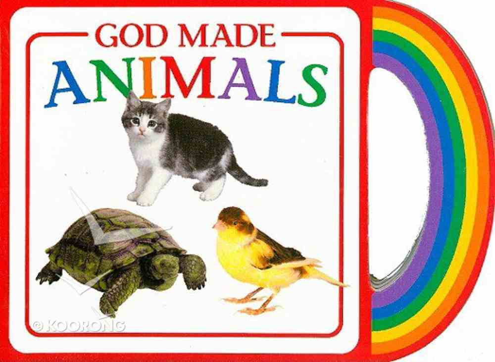 God's Gifts to Me: God Made Animals Board Book