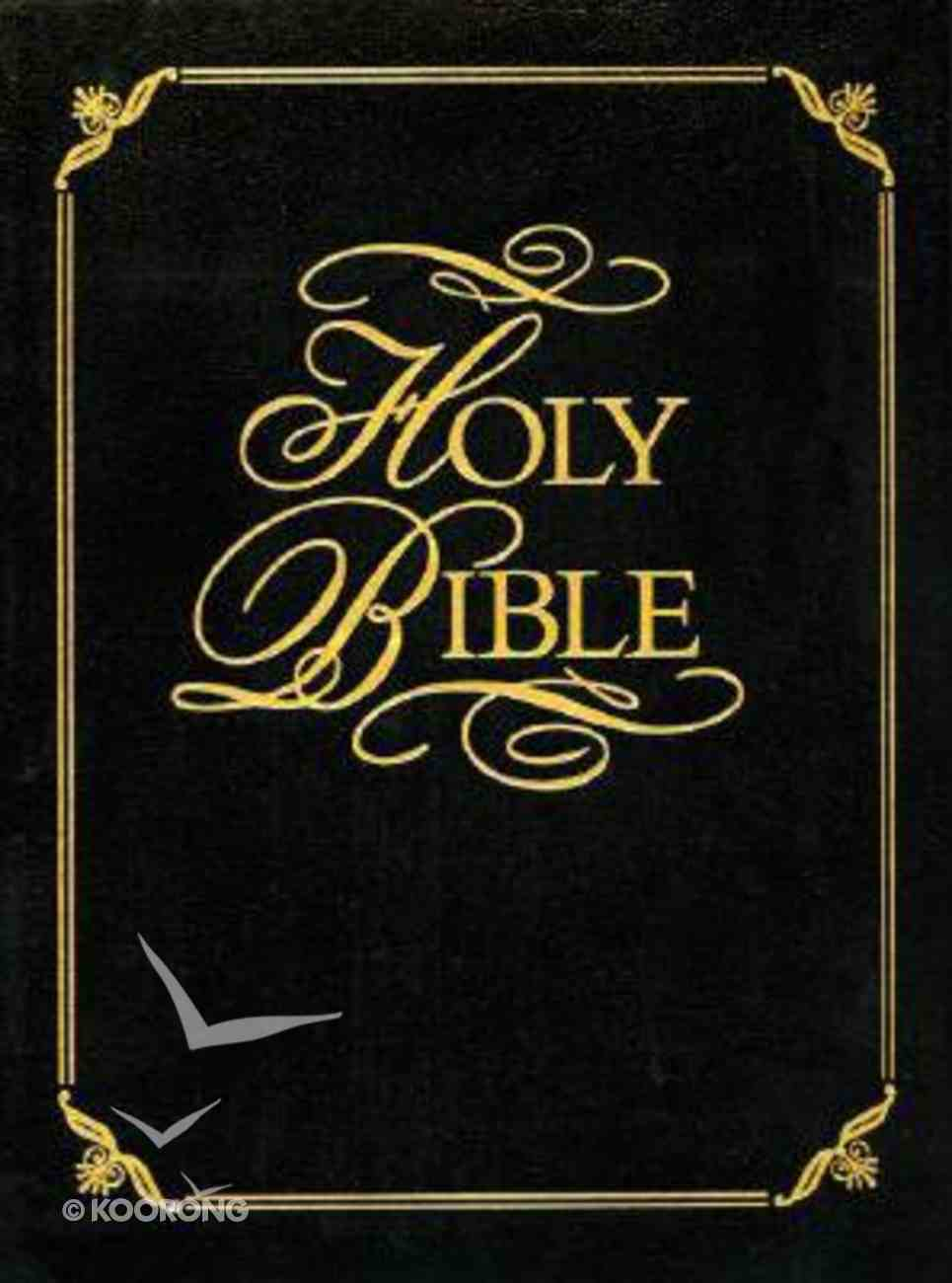 KJV Family Faith and Values Bible (Red Letter Edition) (Heritage Edition) Bonded Leather