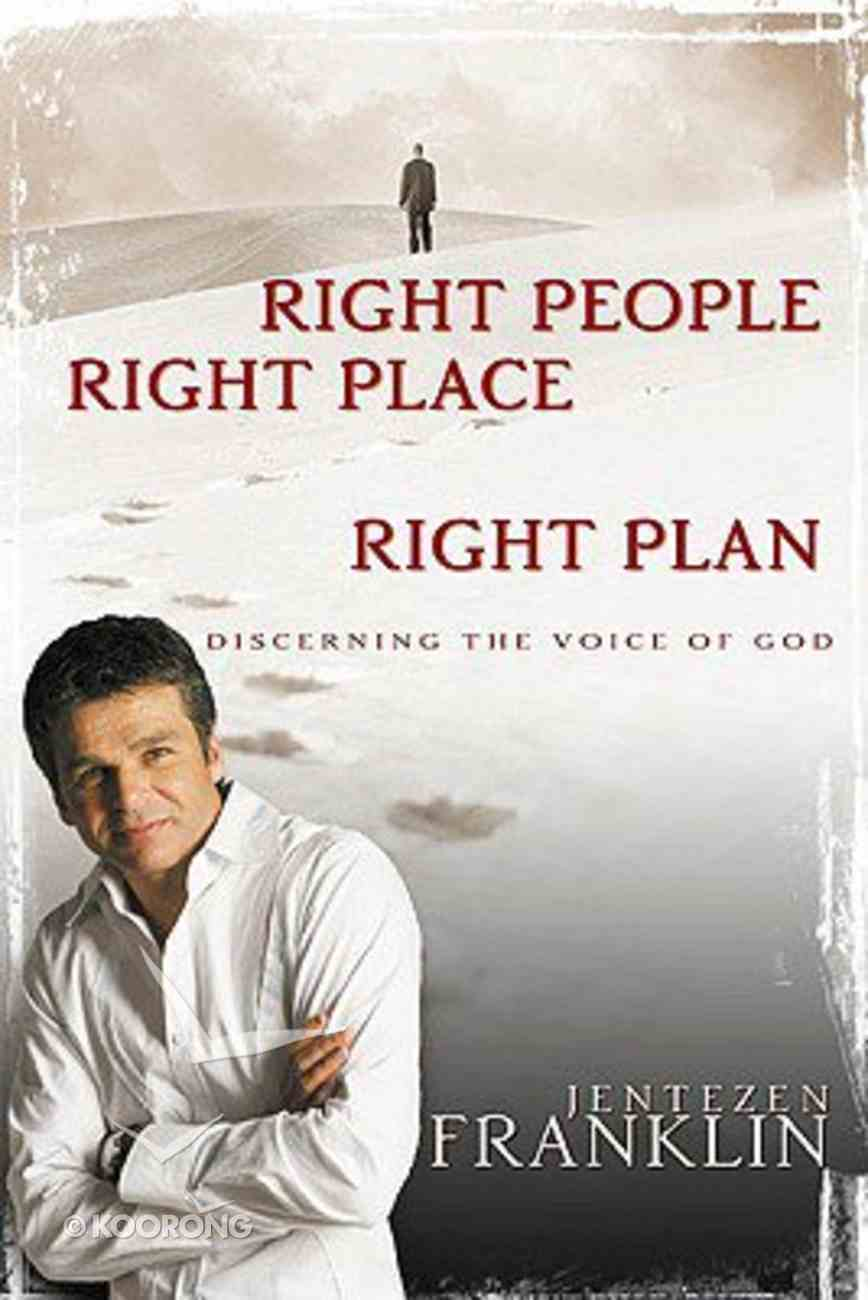 Right People, Right Place, Right Plan Hardback