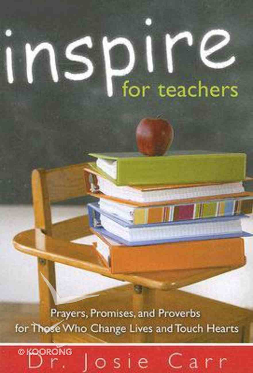 Inspire For Teachers Paperback