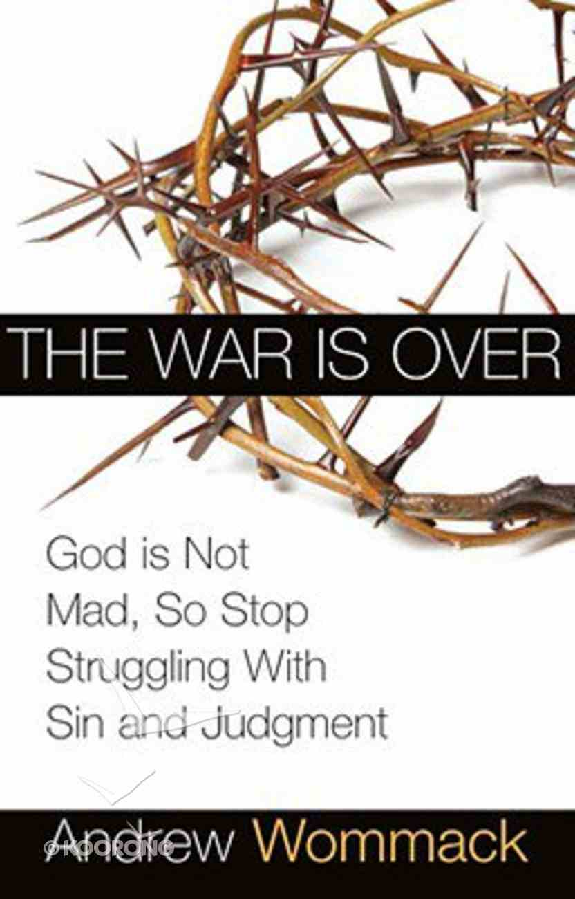The War is Over Paperback
