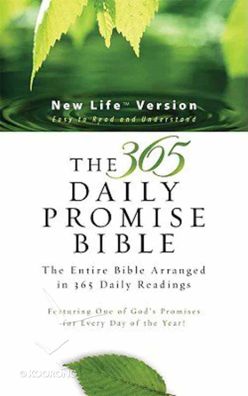The Nlv 365 Daily Promise Bible Paperback