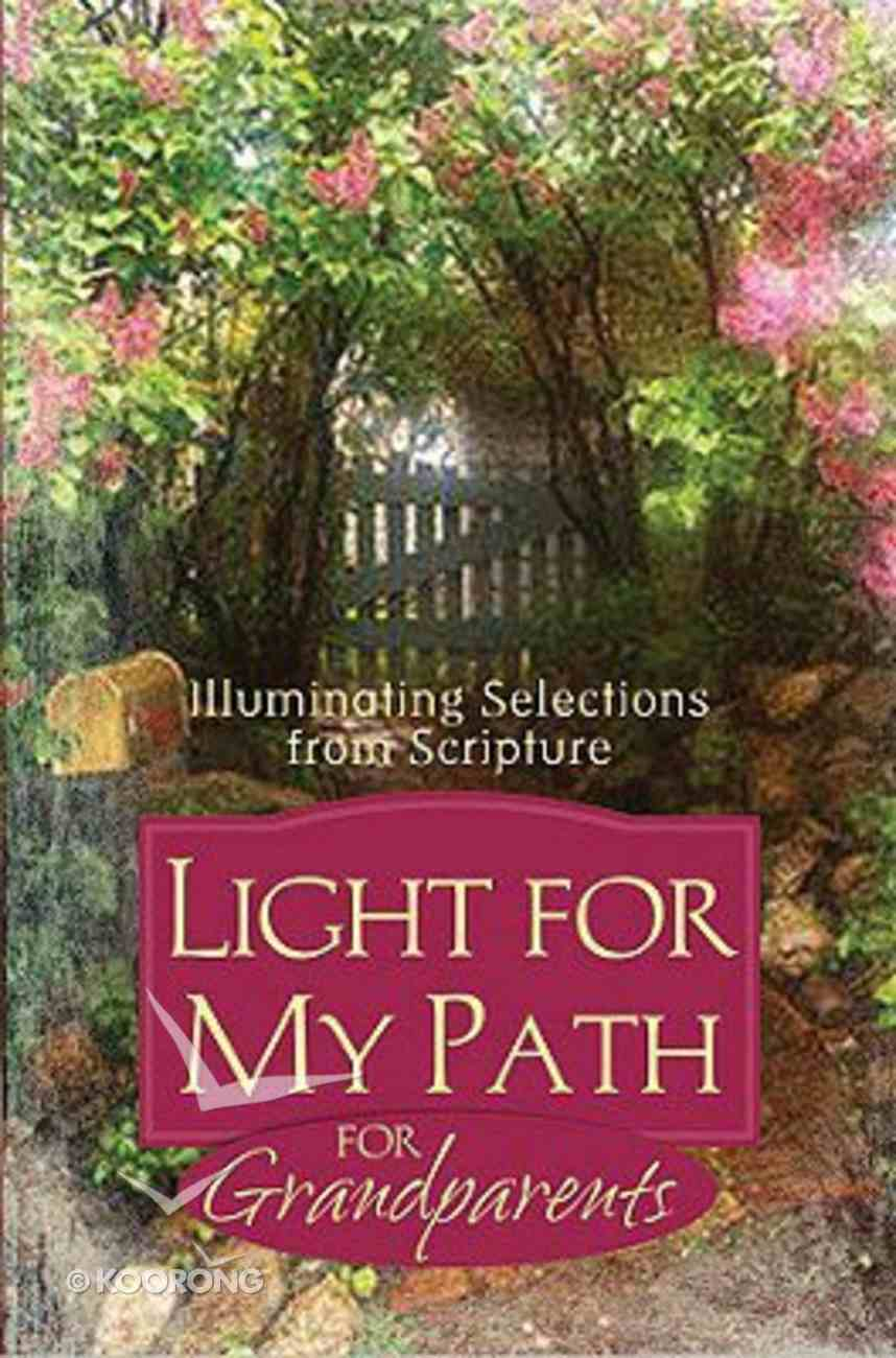 Light For My Path For Grandparents Paperback