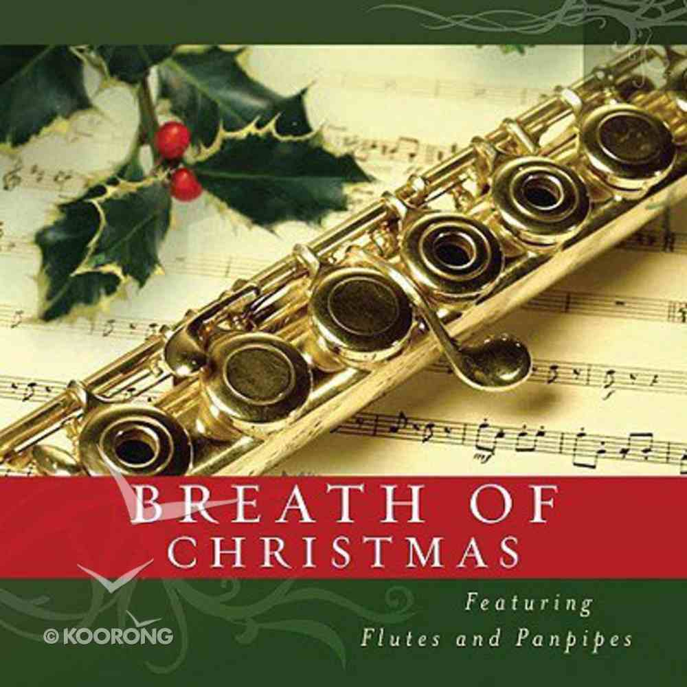 A Breath of Christmas (Flutes and Panpipes) (Christmas At Home Music Cds 2008 Series) CD