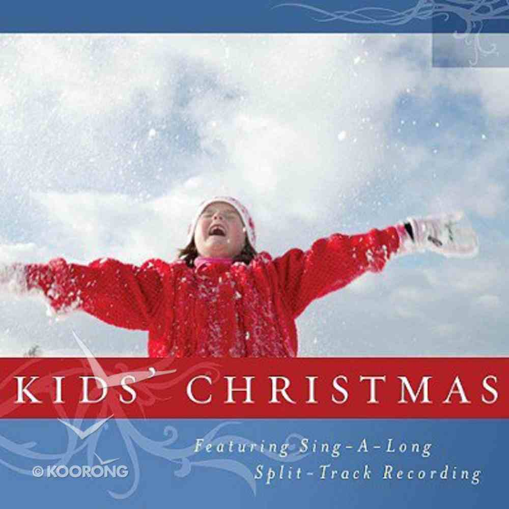 Kids' Christmas - Featuring Sing-A-Long Split Track Recording (Christmas At Home Music Cds 2008 Series) CD