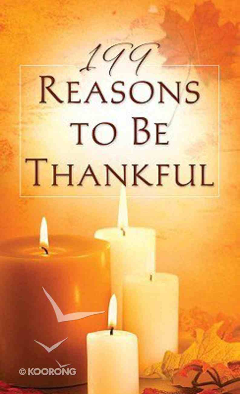 Value Books: 199 Reasons to Be Thankful Paperback