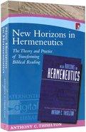 New Horizons In Hermeneutics image