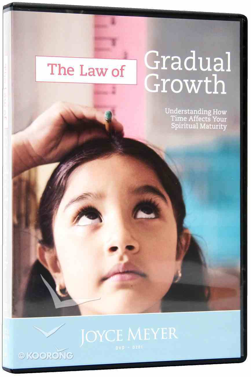 The Law of Gradual Growth (1 Disc) DVD