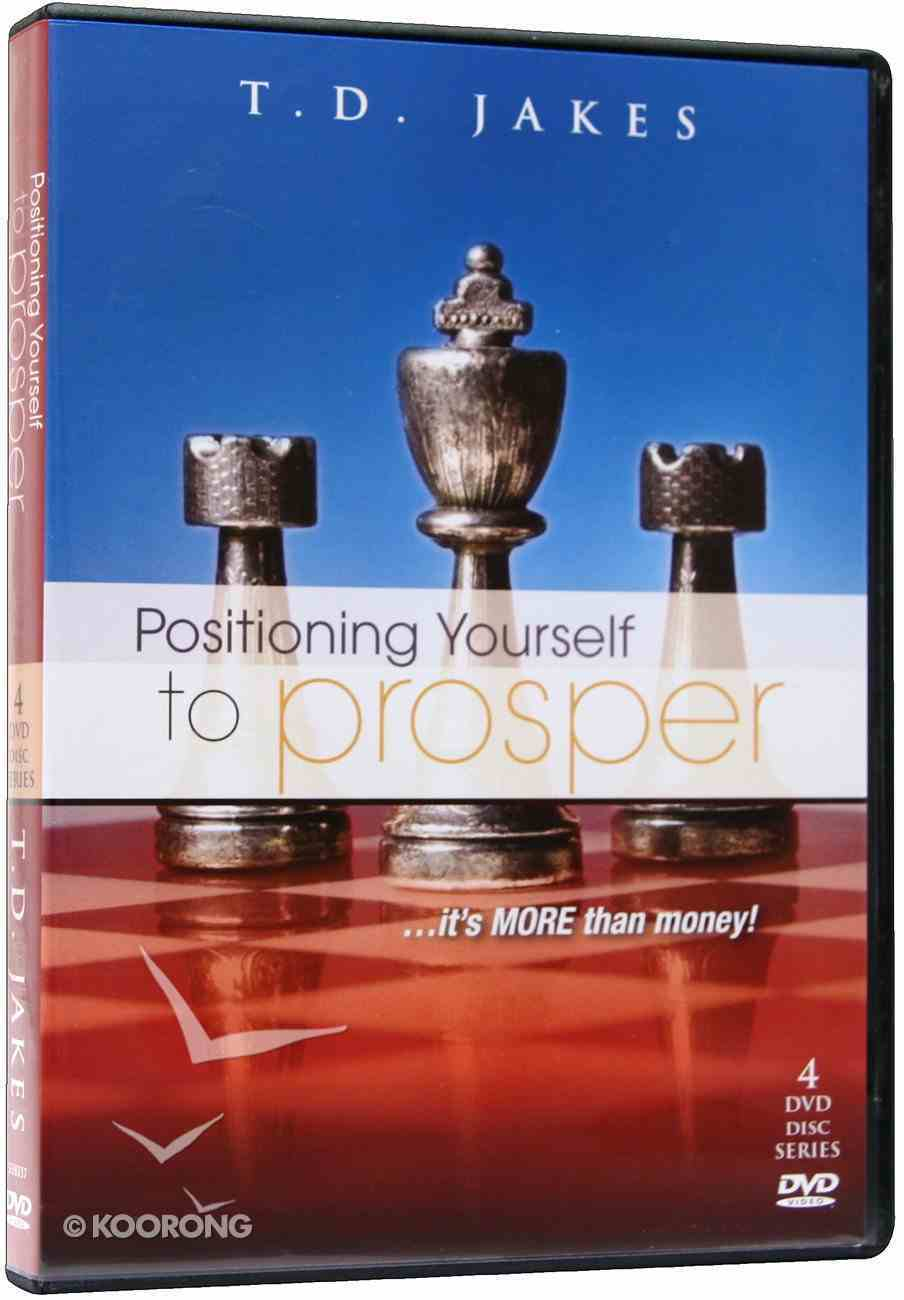 Positioning Yourself to Prosper (4 Dvd Set) DVD