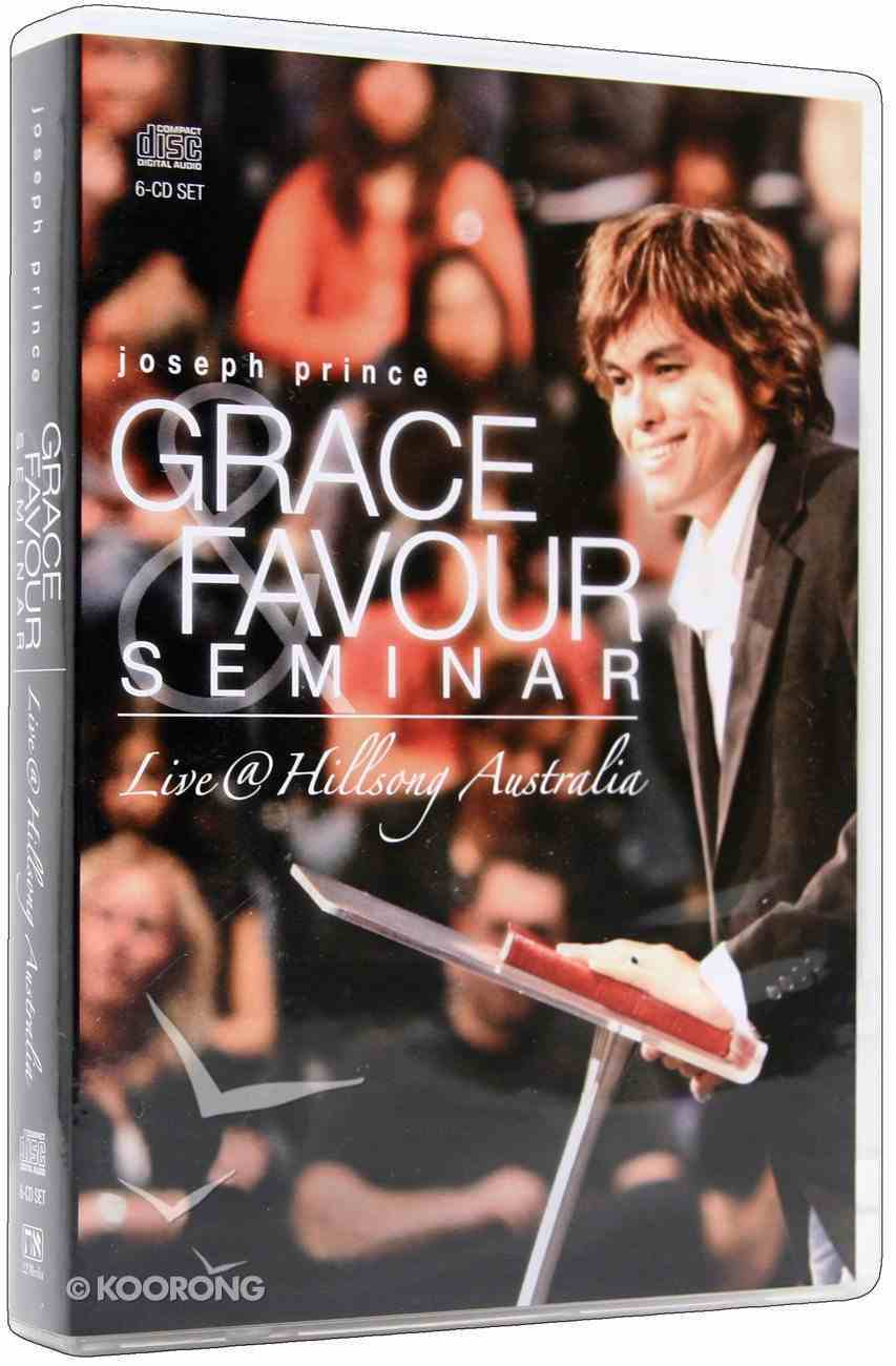 Grace & Favour Seminar - Live @ Hillsong (6 Cds) CD