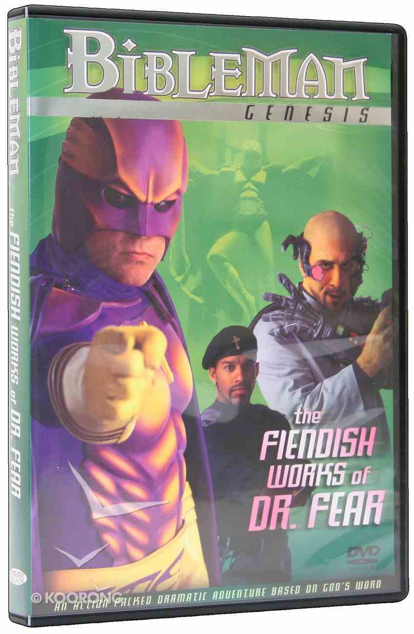 The Fiendish Works of Doctor Fear (Bibleman Genesis Series) DVD