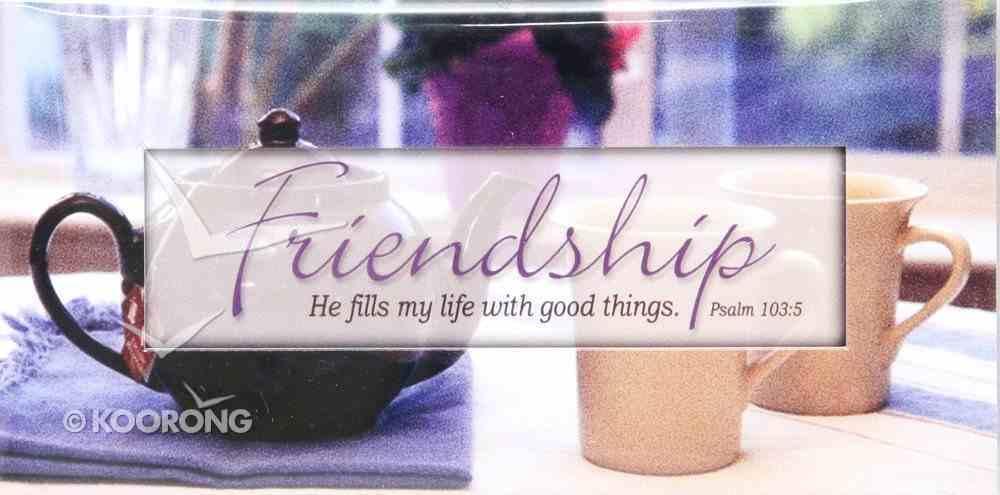 Promises Easled Magnet: Friendship He Fills My Life Novelty