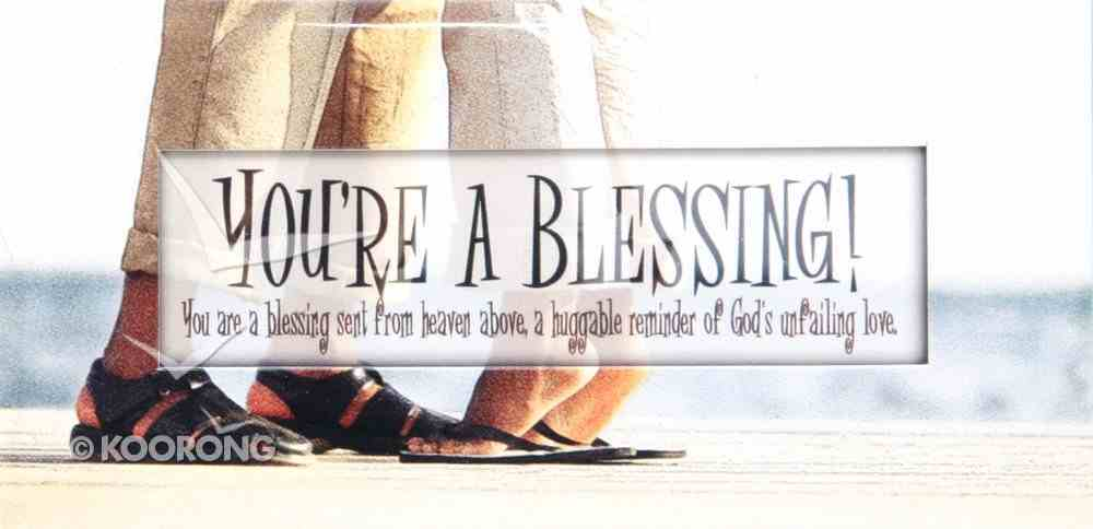 Promises Easled Magnet: You're a Blessing Novelty