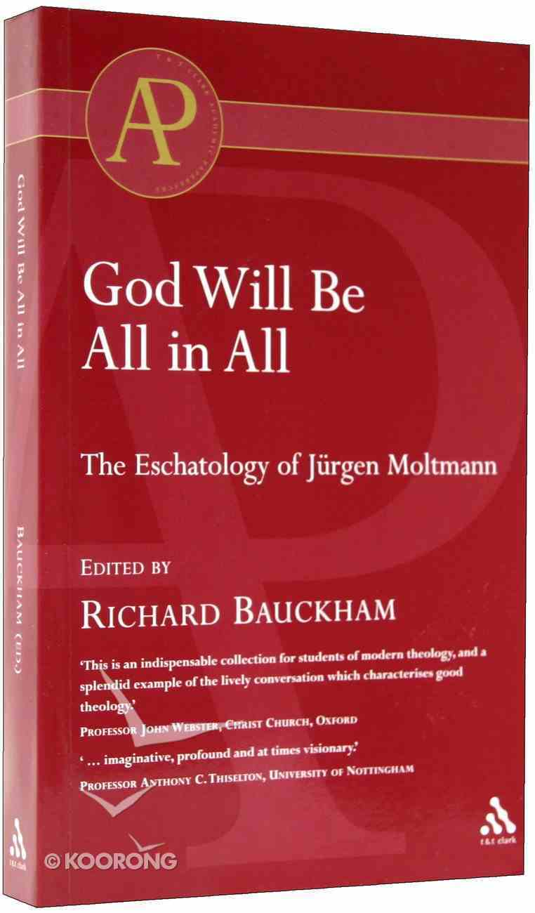 God Will Be All in All Paperback