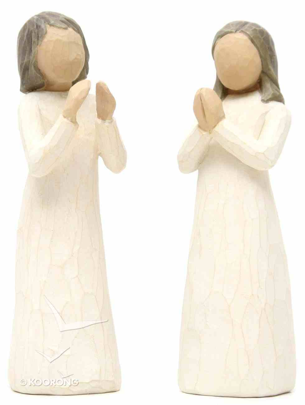 Willow Tree Figurine: Sisters By the Heart Homeware