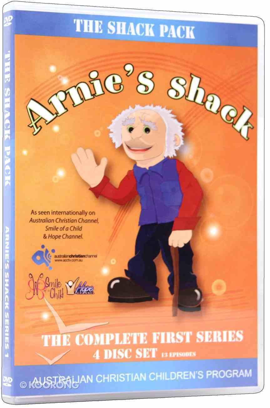 The Arnie's Shack: Shack Pack (The Complete First Season) (Arnies Shack Dvd Series) DVD