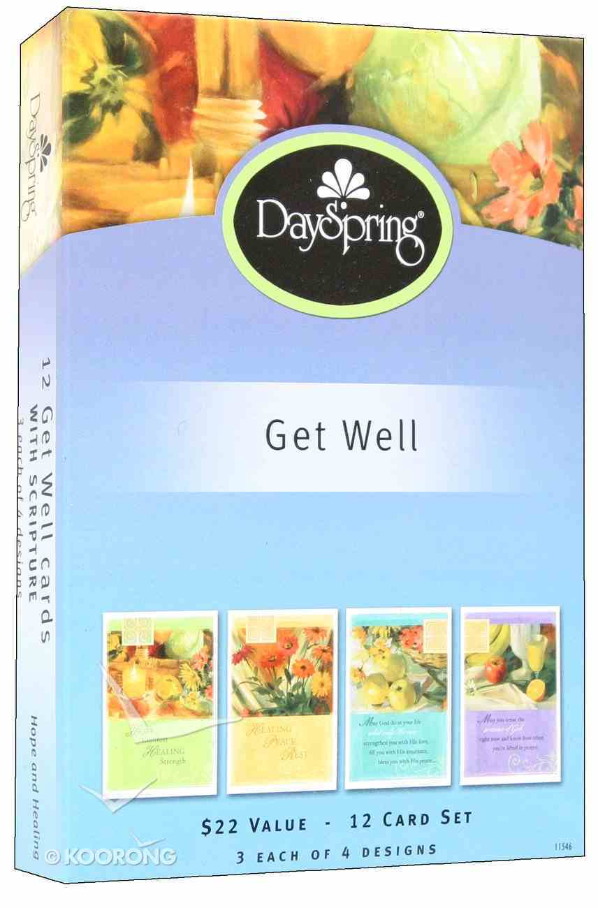 Boxed Cards Get Well: Hope and Healing Box