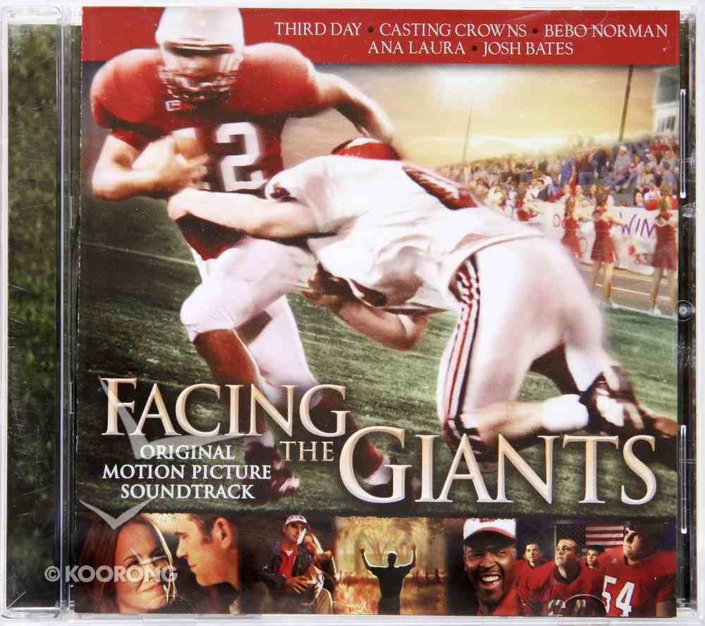 Facing the Giants Soundtrack CD