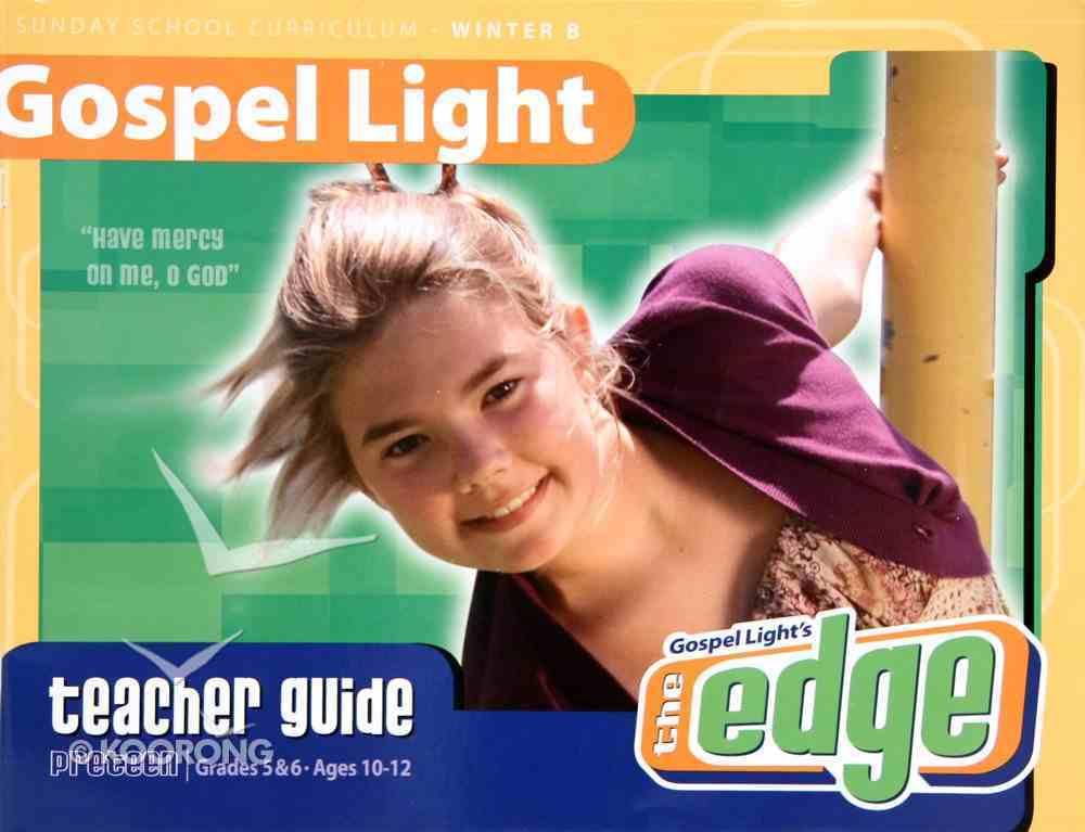 The Edge (Gospel Light Living Word Series) Paperback