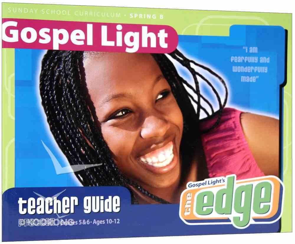 Spring B 2021 Grades 5&6 Teacher Guide (Gospel Light Living Word Series) Paperback