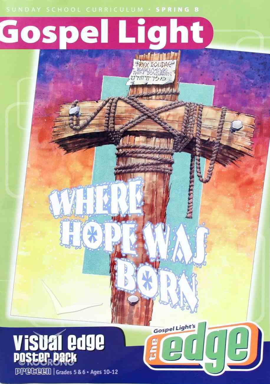 Gllw Spring B 2019 Grades 5&6 Visual Edge (Poster Pack) (Gospel Light Living Word Series) Paperback