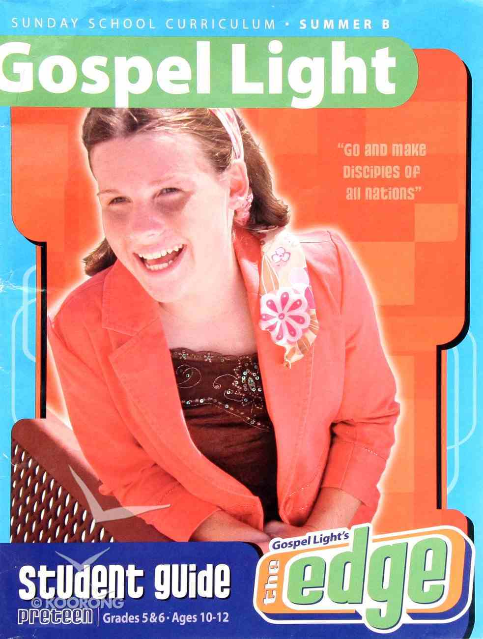 Gllw Summerb 2019/2020 Grades 5&6 Student Guide (Gospel Light Living Word Series) Paperback