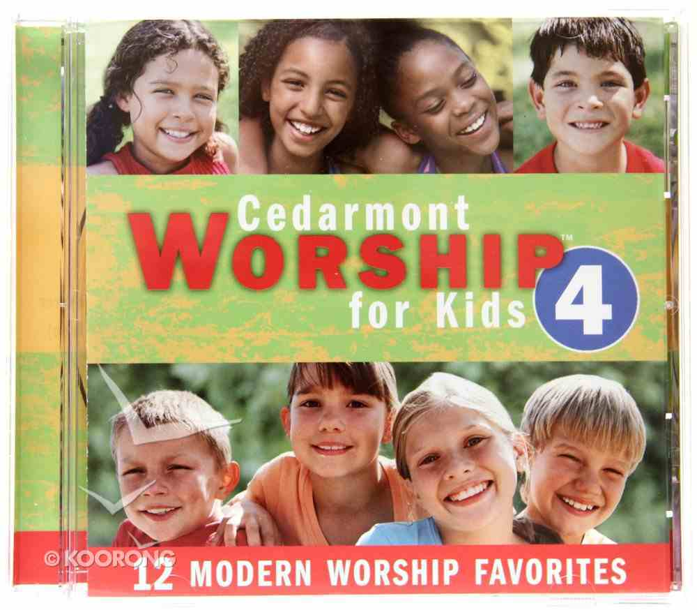 Cedarmont Worship For Kids 4 Stereo CD