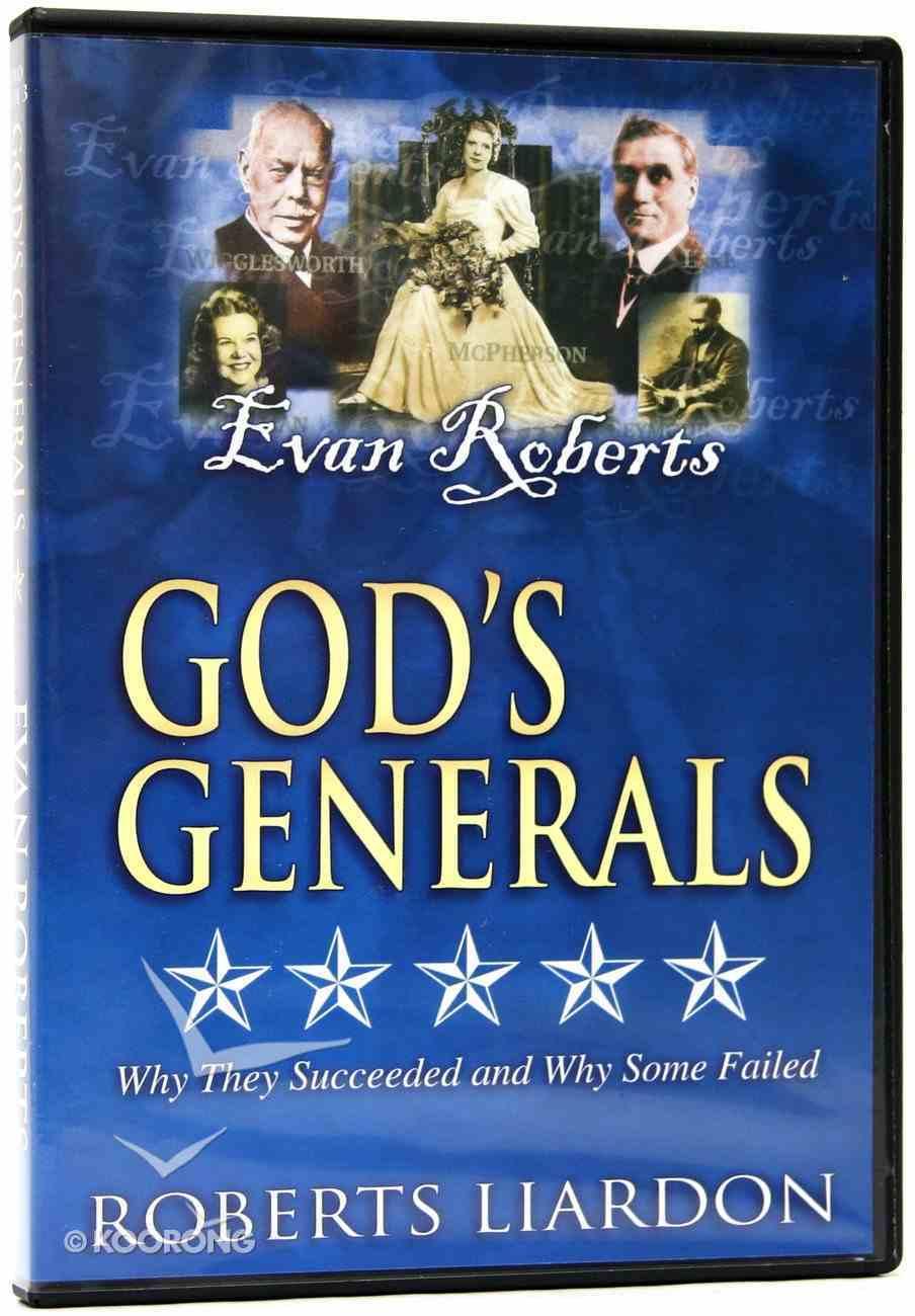 Evan Roberts (#03 in God's Generals Visual Series) DVD