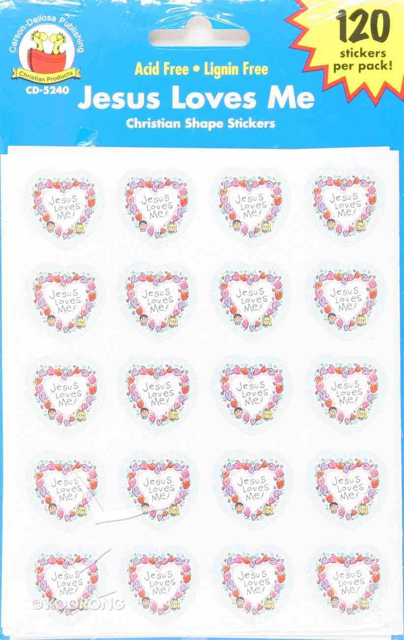 Sticker Pack: Jesus Loves Me Kid-Drawn Novelty