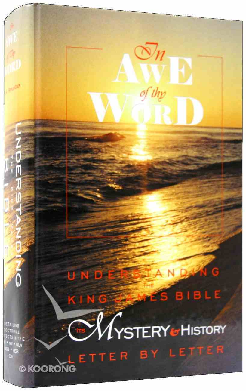 In Awe of Thy Word Hardback