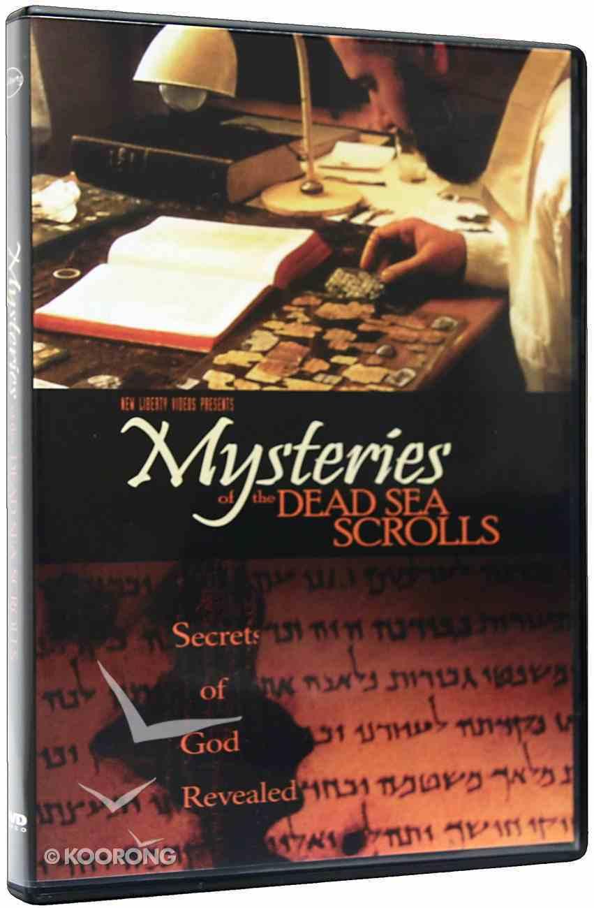 Mysteries of the Dead Sea Scrolls DVD