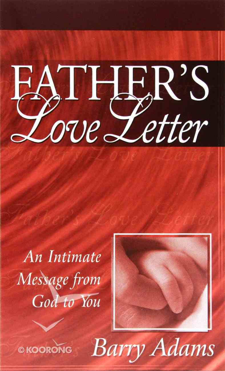 Father's Love Letter NLT (20 Pack) Booklet