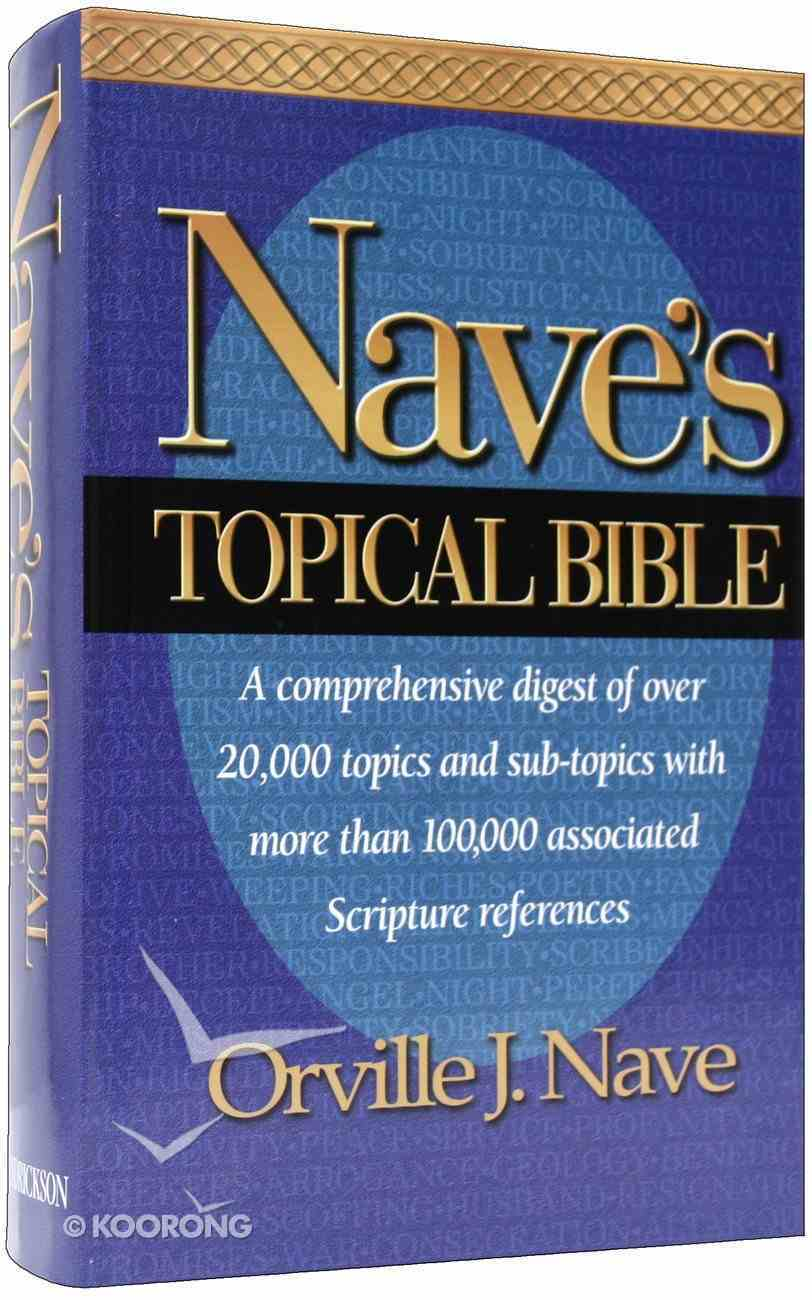 Nave's Topical Bible Hardback