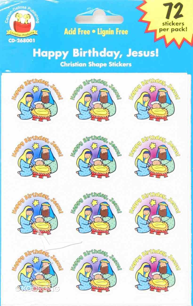 Sticker Pack: Happy Birthday, Jesus! Novelty
