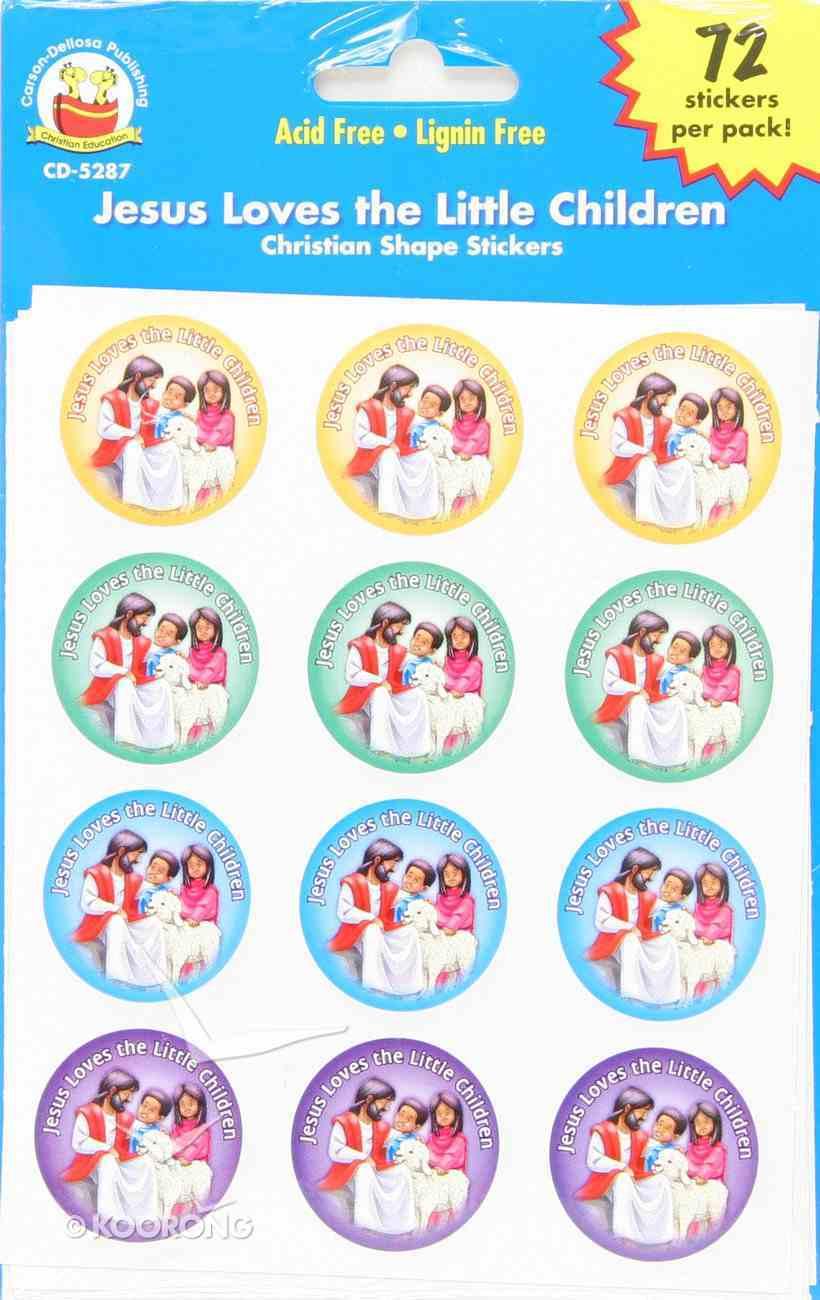 Sticker Pack: Jesus Loves the Little Children Novelty