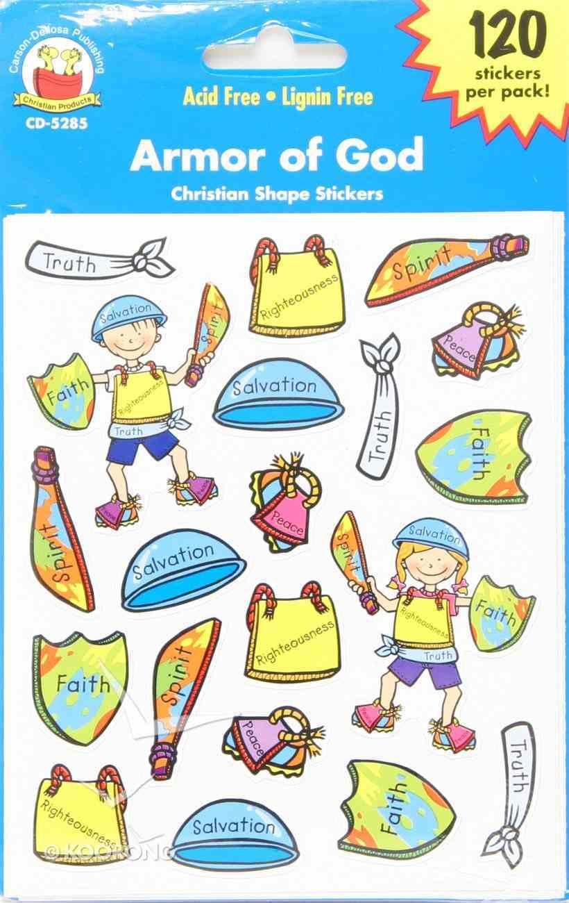 Sticker Pack: Armor of God Novelty
