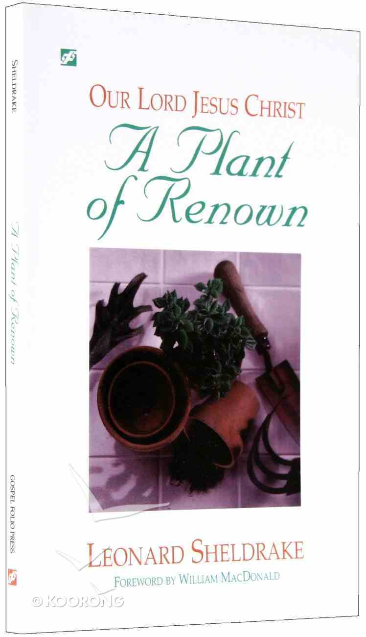 A Plant of Renown Paperback