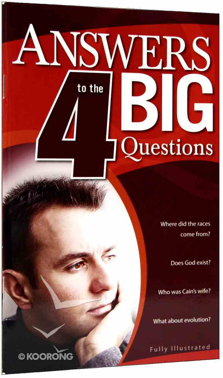 Answers to the 4 Big Questions Paperback
