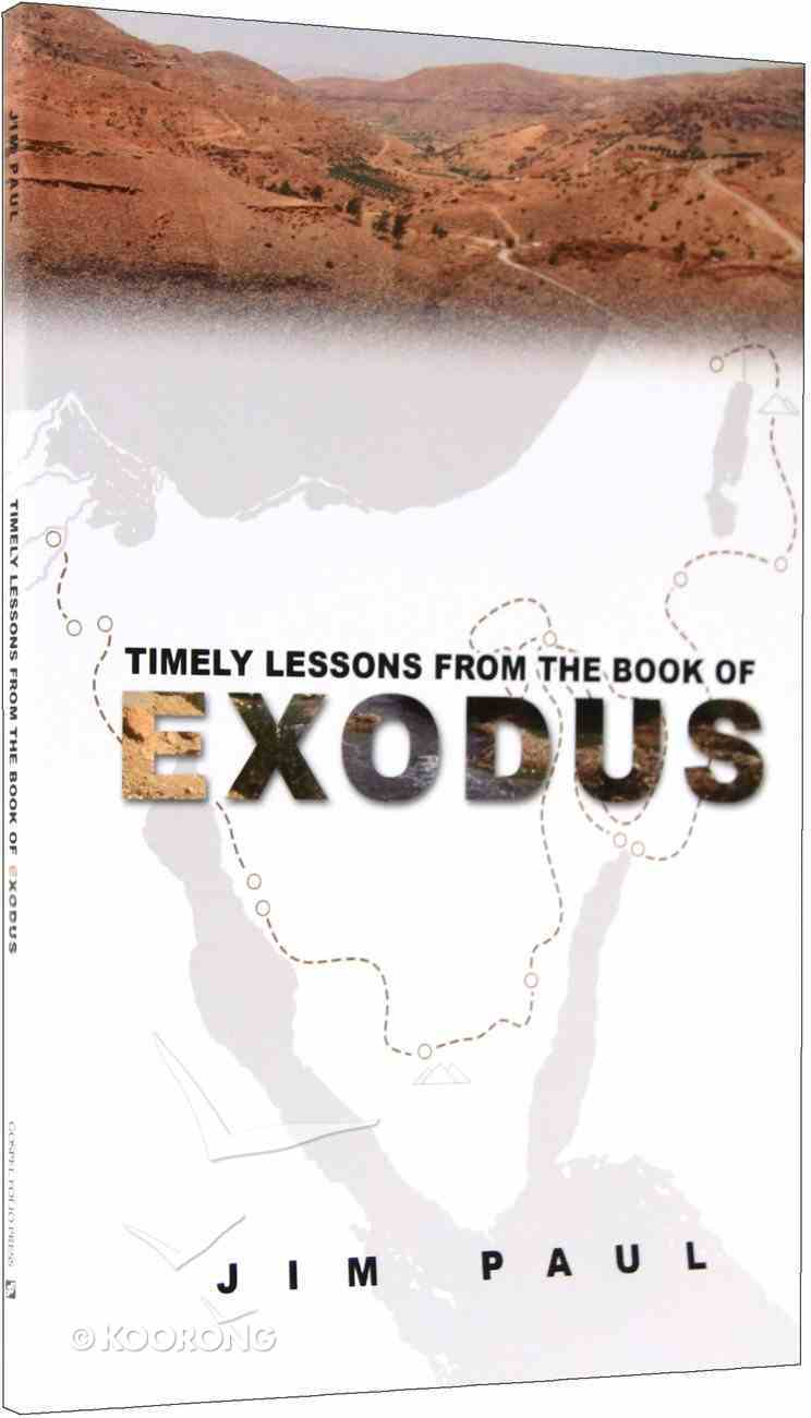 Timesly Lessons From the Book of Exodus Paperback
