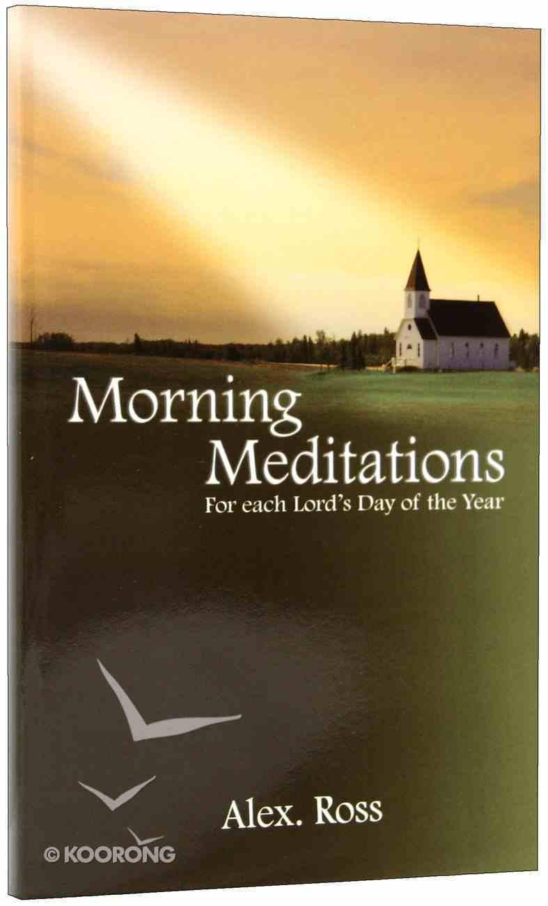 Morning Meditations Paperback