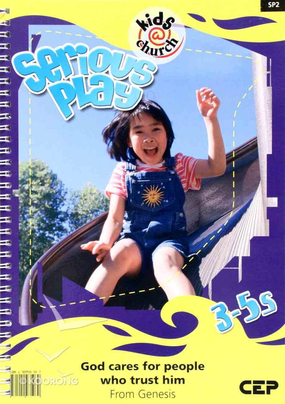 Kids@Church 02: Sp2 Ages 3-5 Teacher's Pack (Serious Play) (Kids@church Curriculum Series) Pack