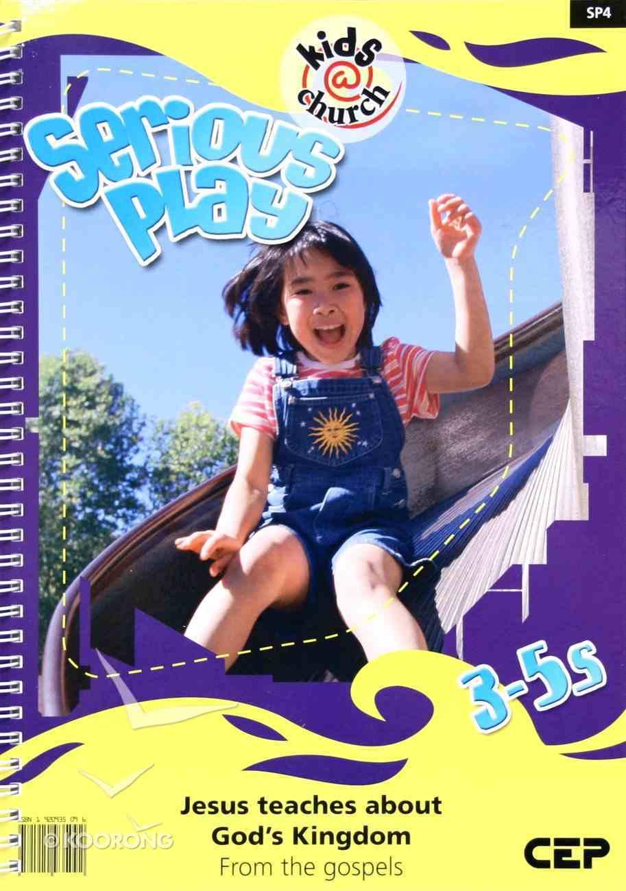 Kids@Church 04: Sp4 Ages 3-5 Teacher's Pack (Serious Play) (Kids@church Curriculum Series) Pack