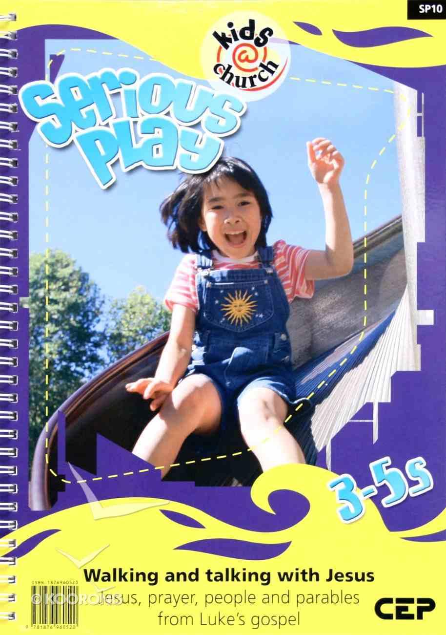 Kids@Church 10: Sp10 Ages 3-5 Teacher's Pack (Serious Play) (Kids@church Curriculum Series) Pack