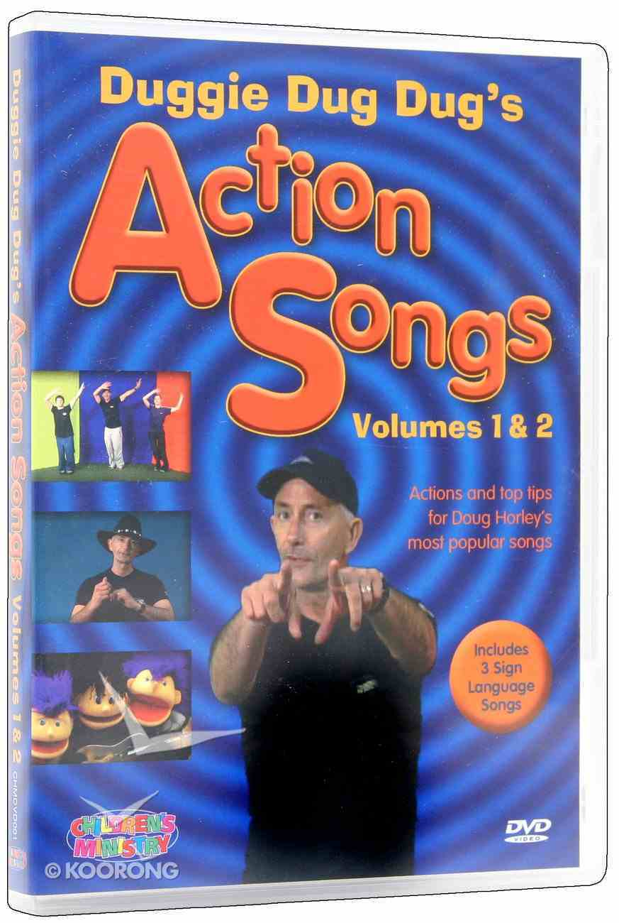 Duggie Dug Dug's Action Songs Volumes 1 and 2 DVD