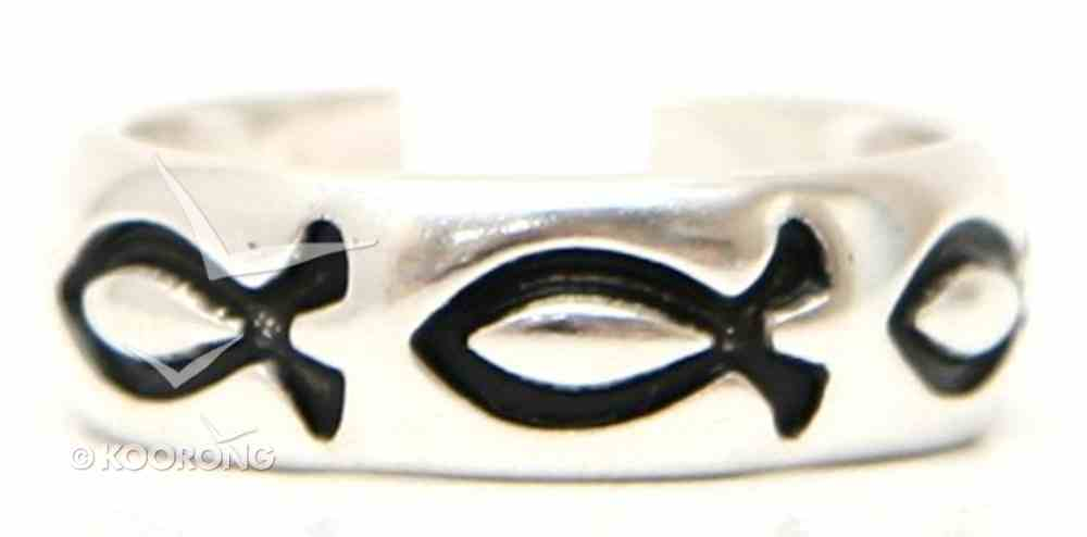 Ring: Fish Size 06 Sterling Silver Jewellery