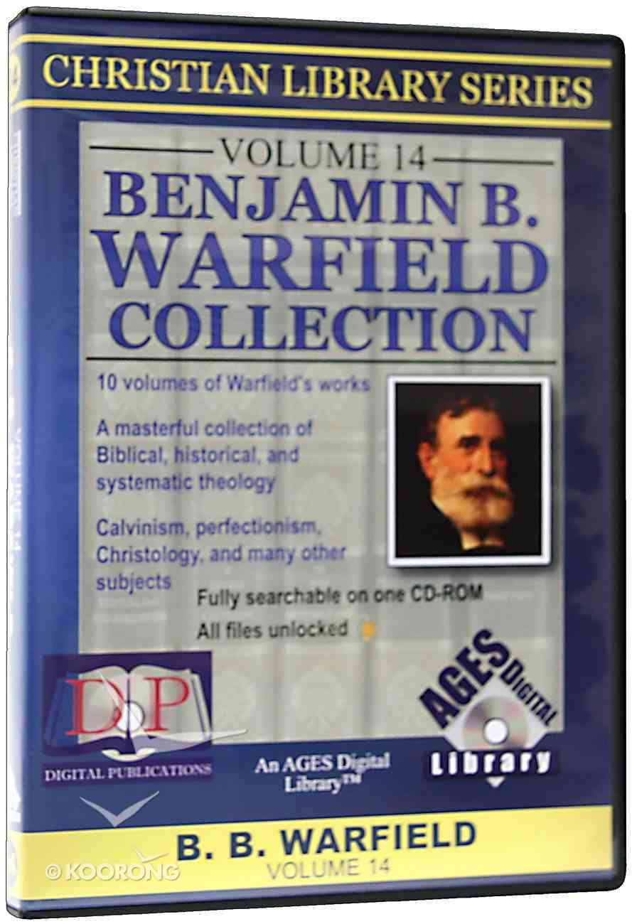 Cls Ages Volume 14 B.B. Warfield Collection CDROM CD-rom