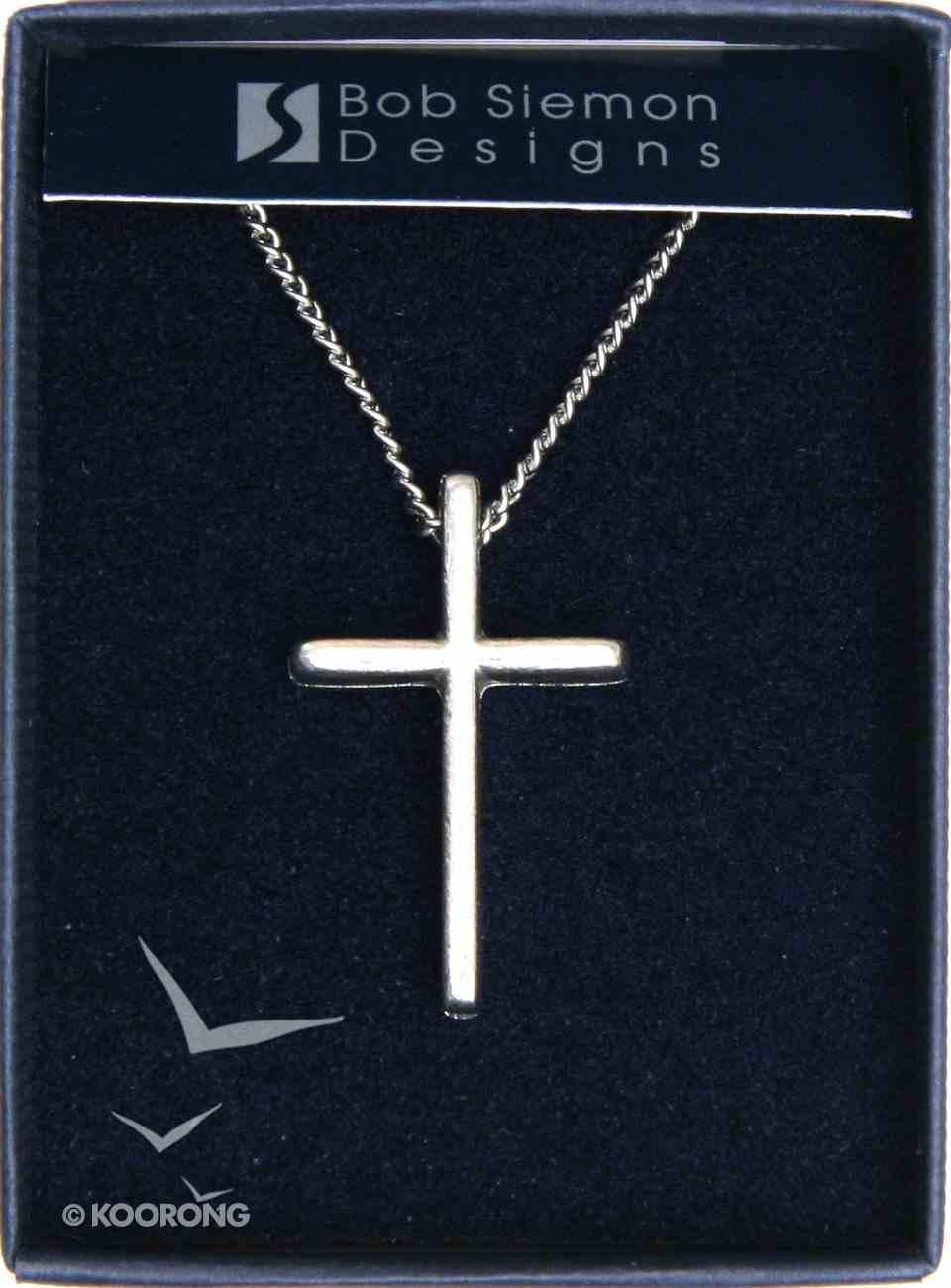 Pendant: Basic Cross Large (Pewter) Jewellery