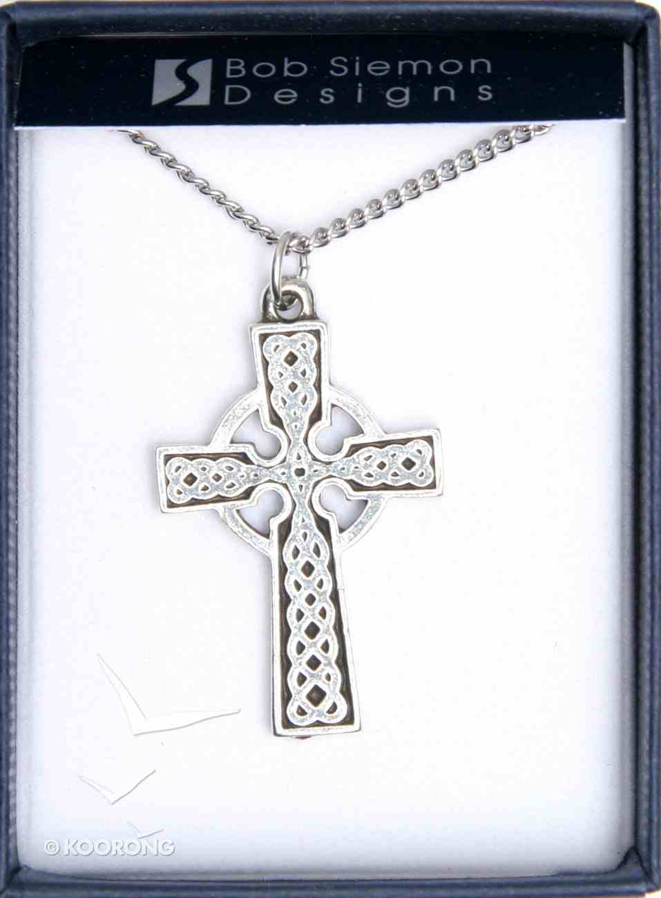 Pendant: Traditional Celtic Cross (Pewter) Jewellery